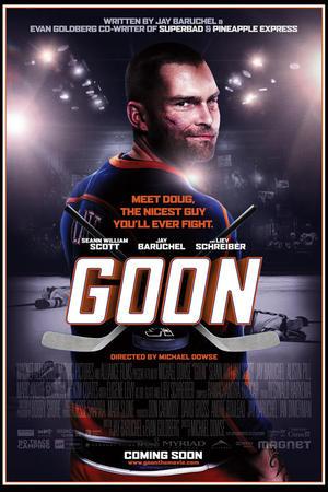 """Poster art for """"Goon."""""""