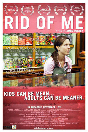 "Poster art for ""Rid of Me."""