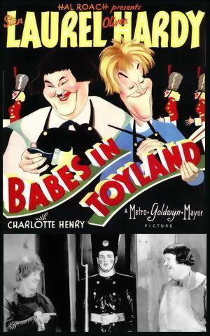 "Poster art for ""Babes in Toyland."""