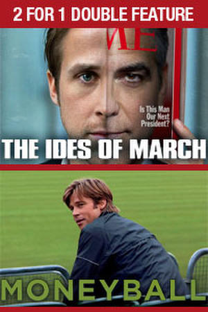 """Poster art for """"Ides of March / Moneyball."""""""
