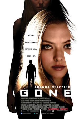 "Poster art for ""Gone."""