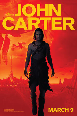 """Poster art for """"John Carter 3D."""""""
