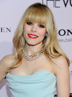 "Rachel McAdams at the California premiere of ""The Vow."""