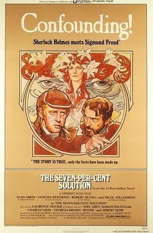 """Poster art for """"The Seven Percent Solution."""""""