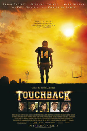 "Poster art for ""Touchback."""