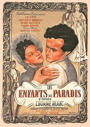 """Poster art for """"Children of Paradise."""""""