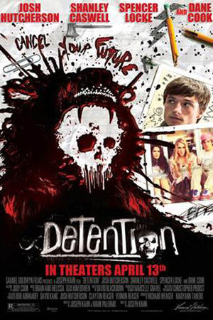 "Poster art for ""Detention."""