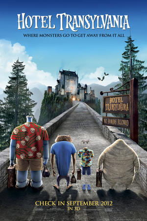 "Poster art for ""Hotel Transylvania 3D."""