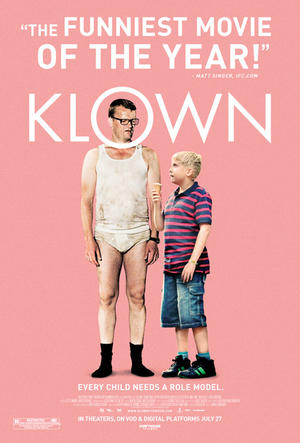 "Poster art for ""Klown."""