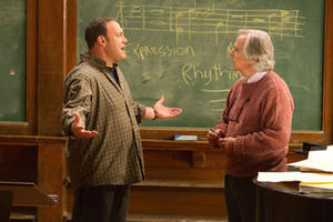 "Kevin James and Henry Winkler in ""Here Comes the Boom."""