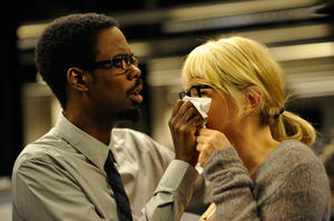 "Chris Rock and Julie Delpy in ""2 Days in New York."""