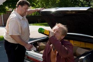 "John Goodman and John Malkovich in ""Drunkboat."""