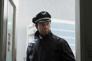 "Denzel Washington in ""Flight."""
