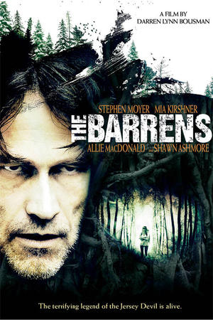 "Poster art for ""The Barrens."""