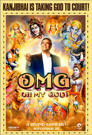 """Poster art for """"OMG - Oh My God!"""""""