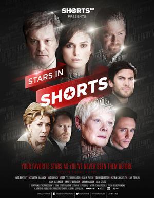 "Poster art for ""Stars in Shorts."""