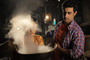 "A scene from ""Luv Shuv Tey Chicken Khurana."""