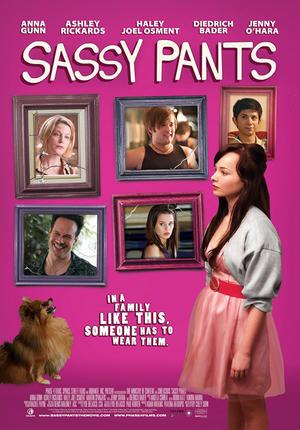 """Poster art for """"Sassy Pants."""""""