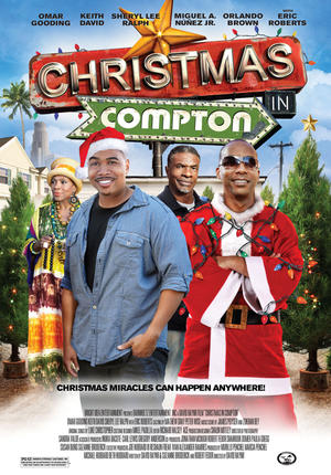 "Poster art for ""Christmas in Compton."""