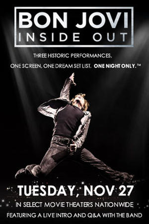 "Poster art for ""Bon Jovi: Inside Out."""