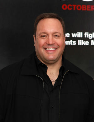 "Kevin James at the New York premiere of ""Here Comes the Boom."""