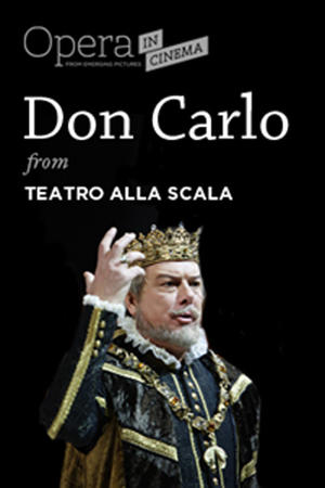 """Poster art for """"Don Carlo Opera from La Scala."""""""