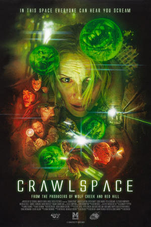 "Poster art for ""Crawlspace."""