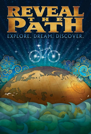 """Poster art for """"Reveal The Path."""""""