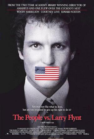 """Poster art for """"The People vs. Larry Flynt."""""""