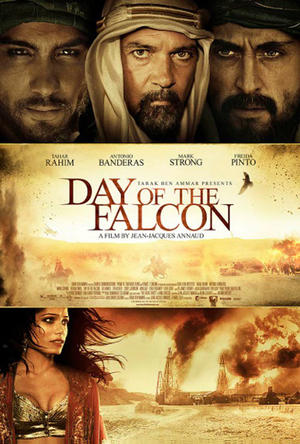 "Poster art for ""Day of the Falcon."""