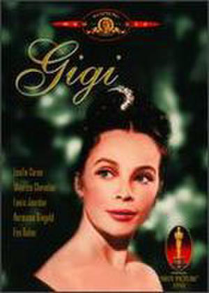 "Poster art for ""Gigi."""
