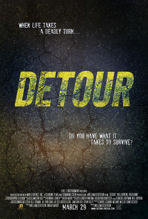 "Poster art for ""Detour."""
