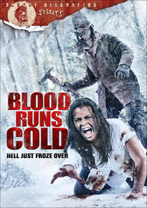 """Poster art for """"Blood Runs Cold."""""""