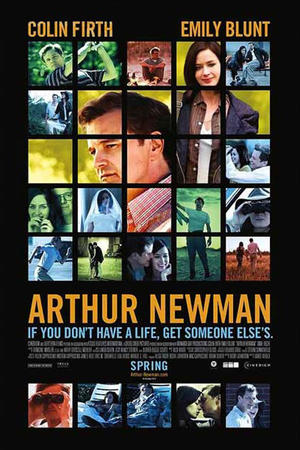 "Poster art for ""Arthur Newman."""