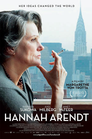 "Poster art for ""Hannah Arendt."""