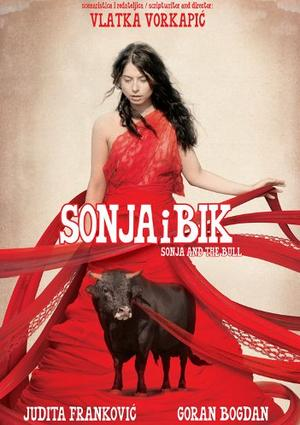 """Poster art for """"Sonja and the Bull."""""""