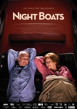 """Poster art for """"Night Boats."""""""