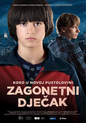 """Poster art for """"The Mysterious Boy."""""""