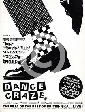 "Poster art for ""Dance Craze."""