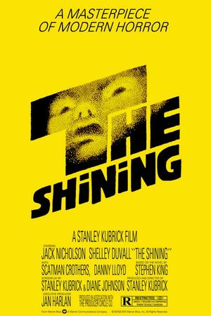 "Poster art for ""The Shining."""