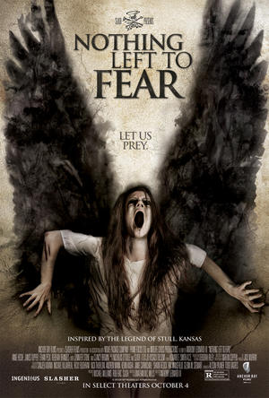 """Poster art for """"Nothing Left to Fear."""""""