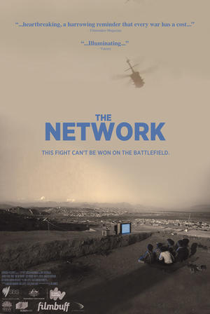 "Poster art for ""The Network."""