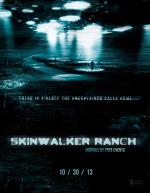 "Poster art for ""Skinwalker Ranch."""