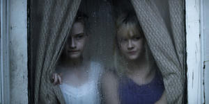 """Julia Garner as Rose Parker and Ambyr Childers as Iris Parker in """"We Are What We Are."""""""