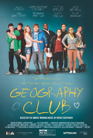 """Poster art for """"Geography Club."""""""