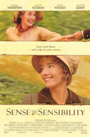 "Poster art for ""Sense & Sensibility."""