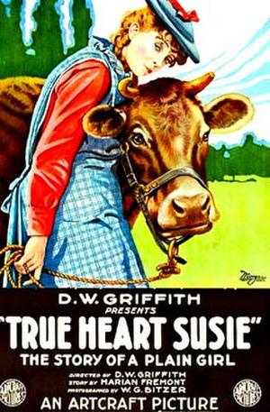 "Poster art for ""True Heart Susie."""