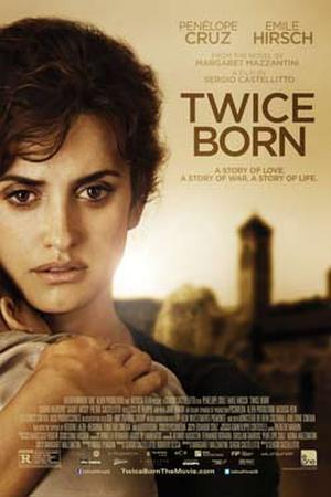 "Poster art for ""Twice Born."""