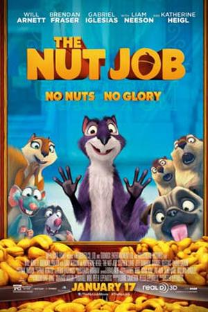 """Poster art for """"The Nut Job 3D."""""""