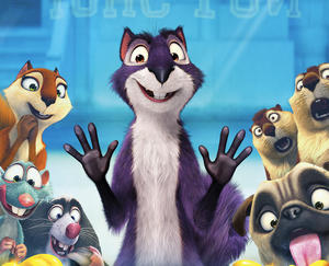 """A scene from """"The Nut Job."""""""